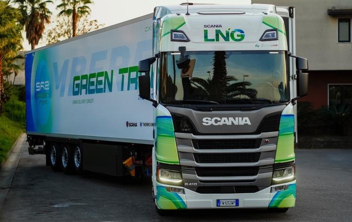 Green truck 3